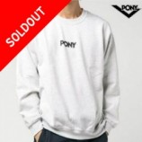 PONY(ポニー)FAMOUS LOGO SWEAT CREW