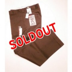 "DICKIES 874WORK PANTS""DARK BROWN"""
