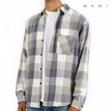 mnml(ミニマル)Vintage FLANNEL SHIRT - navy/natural