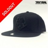 TRIBAL STREET WEAR(トライバル)BLACK T-STAR SNAPBACK