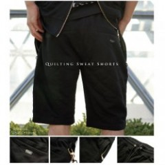 BLOW ONE'S MIND (ビー・オー・エム)Quilting Sweat Shorts