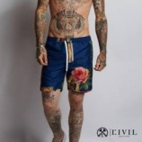 CIVIL RECIME (シヴィル・レジーム)HOLY Swim SHORTS