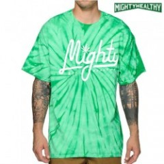 MIGHTY HEALTHY MightyScript Tie Dye Tee (マイティヘルシー)