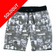 Blowonesmind(ビー・オー・エム)D.A.R SWEAT SHORTS BLK