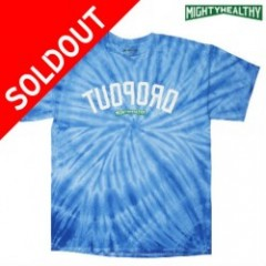 MIGHTY HEALTHY Dropout Tie Dye Tee (マイティヘルシー)