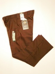 "DICKIES 863 SlimStraight WORKPANTS""Brown"""