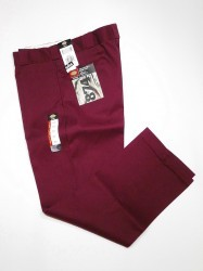 "DICKIES 874WORK PANTS""Maroon"""