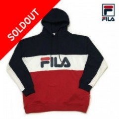 FILA(フィラ) PULLOVER HOODIE