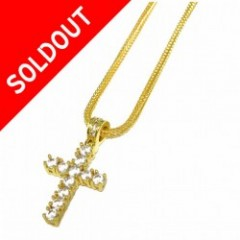 Design By TSS Medium CROSS NECKLACE