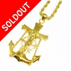 Design By TSS ANCHOR NECKLACE