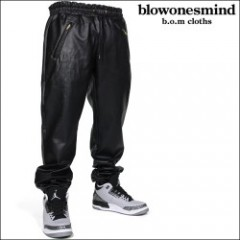 Blowonesmind(ビー・オー・エム)GrowInTheDark LeatherPants