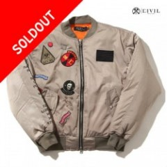 CIVIL (シヴィル) REBEL TOUR MA-1 BOMBER JACKET