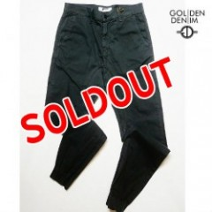 GOLDEN DENIM The Marathon PANTS Charcoal