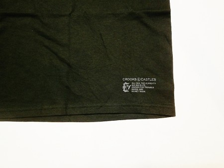 Crooks&Castles(クルックス&キャッスルズ)Course Medusa SS Tee