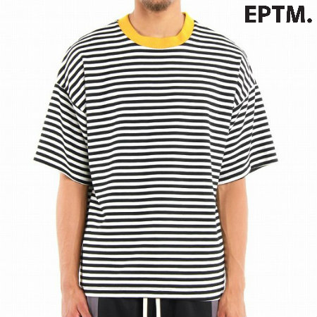 EPTM.(エピトミ)Ribbed Stripe Tee