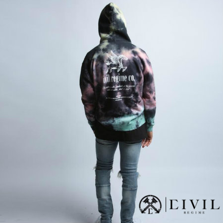 CIVIL RECIME (シヴィル・レジーム) REBEL YOUTH CO HOODIE